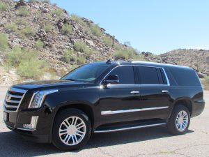 2017 Escalade Scottsdale SUV Chauffeur transportation