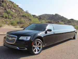 Chrysler 300 limousine service Scottsdale