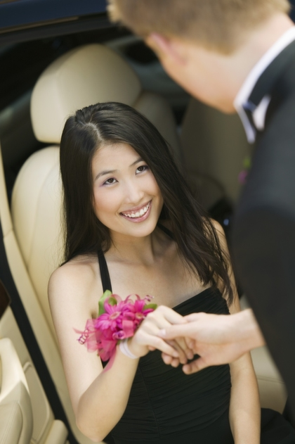 Rent a limo for homecoming Scottsdale