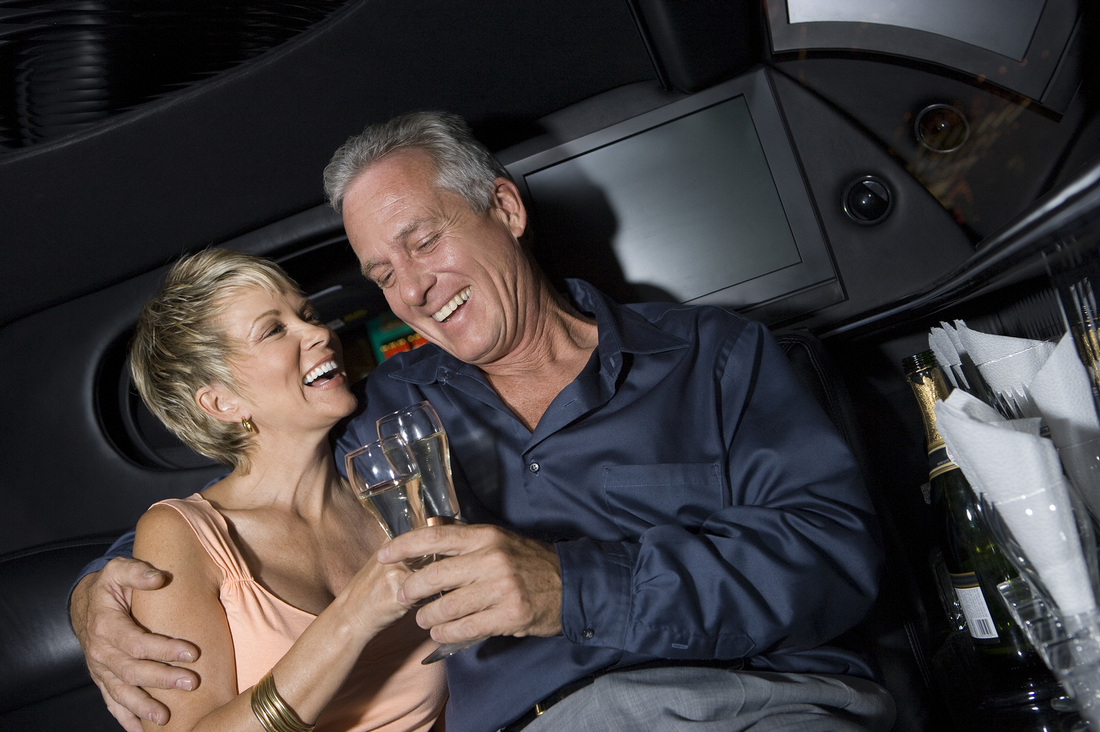 night on the town for anniversary limo Scottsdale