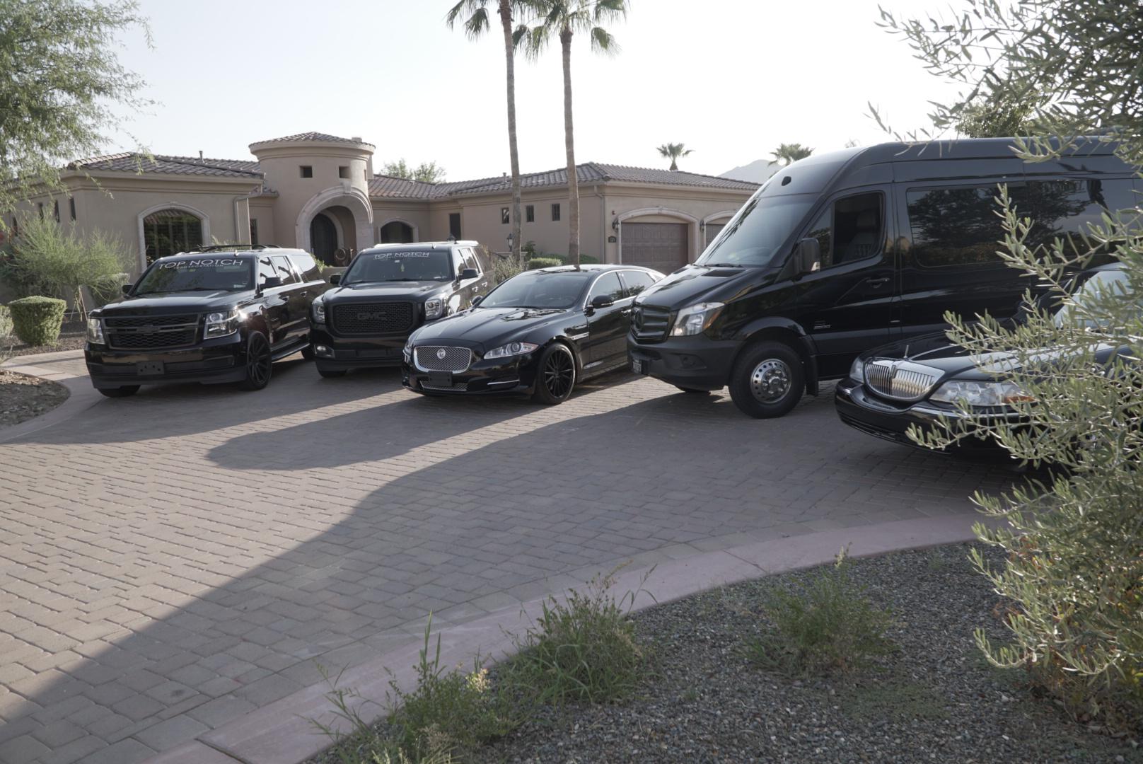Scottsdale Limo Company - Top Notch Transportation fleet