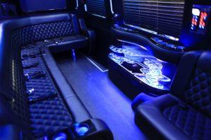 Scottsdale Party Bus interior