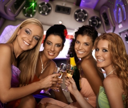 Bachelorette party limo service