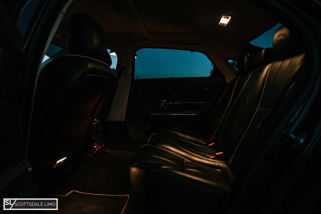 Scottsdale AZ black car services - Jaguar