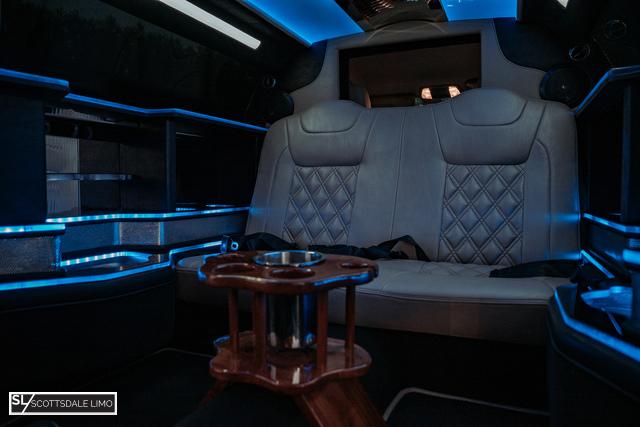 limo service Scottsdale AZ - interior