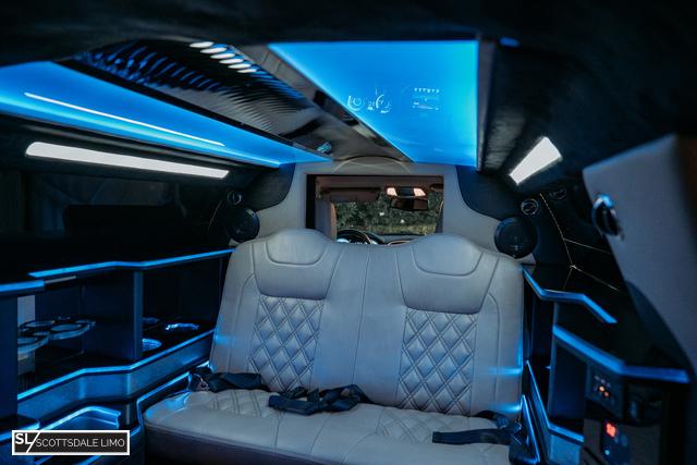 limousine service Scottsdale AZ - interior