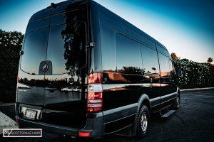 Scottsdale corporate Sprinter transportation - exterior