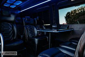 Scottsdale corporate Sprinter - interior
