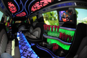 Scottsdale Cadillac Escalade Limo interior 1