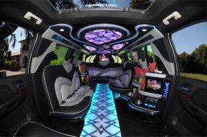 Scottsdale Cadillac Escalade Limo interior 2
